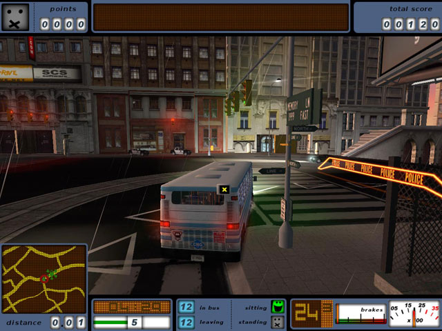 bus driver simulation de conduite de bus